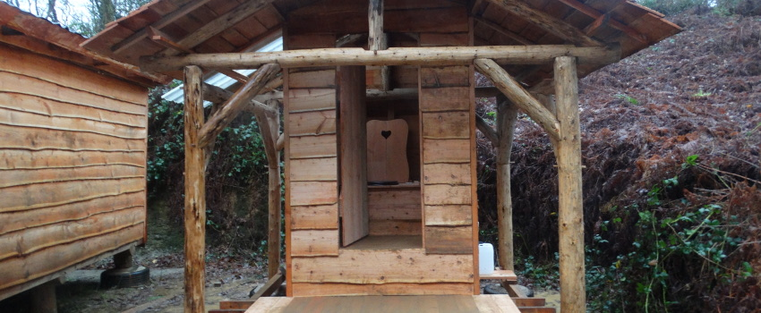 Pengelli gets a new compost loo